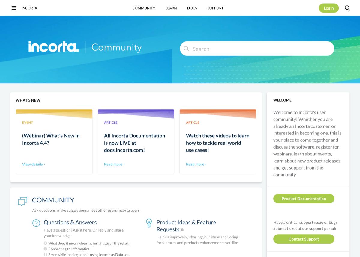 Incorta Community