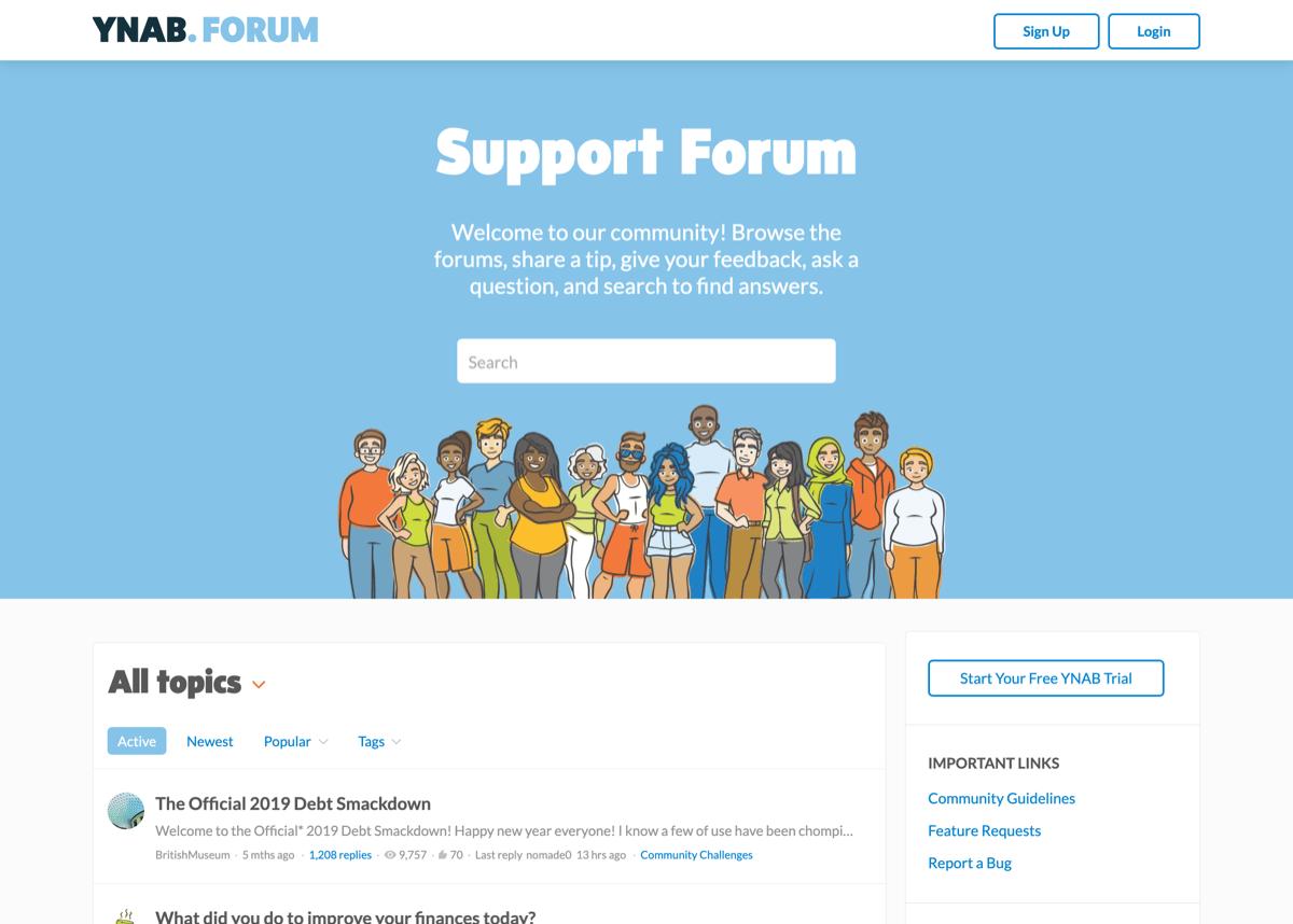 YNAB Support Forum
