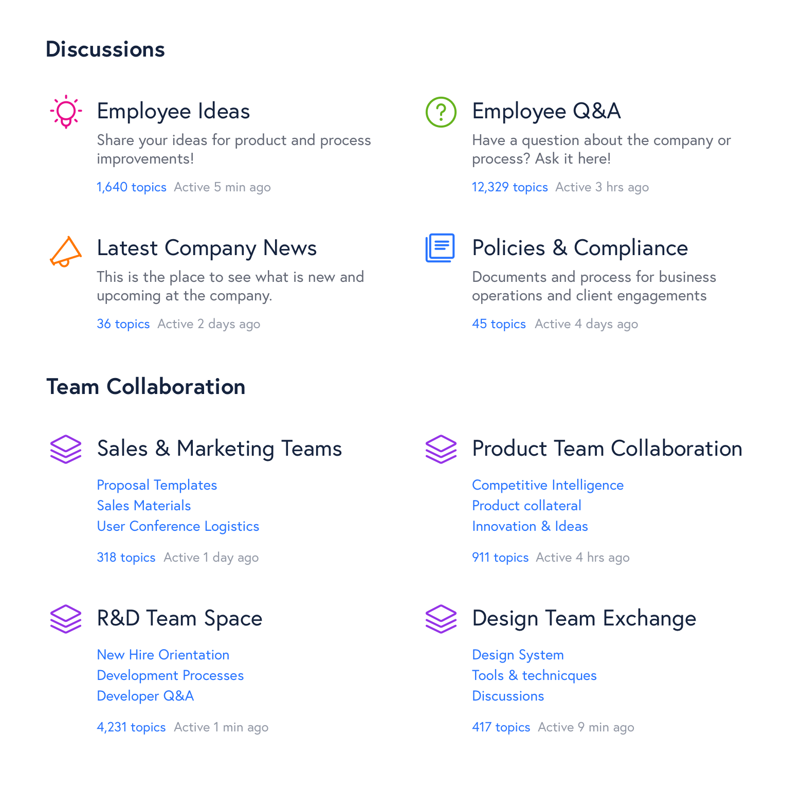 Employee Collaboration and Knowledge Sharing Hub
